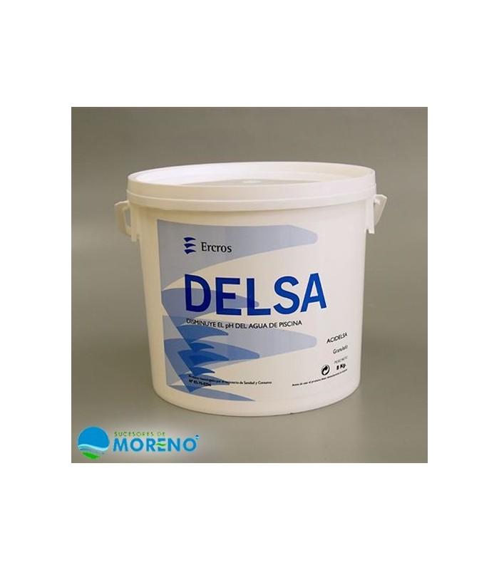 Acidelsa ph bajar ph 8kg sucesores de moreno for Bajar ph piscina