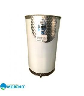 Deposito acero inx para miel 500l
