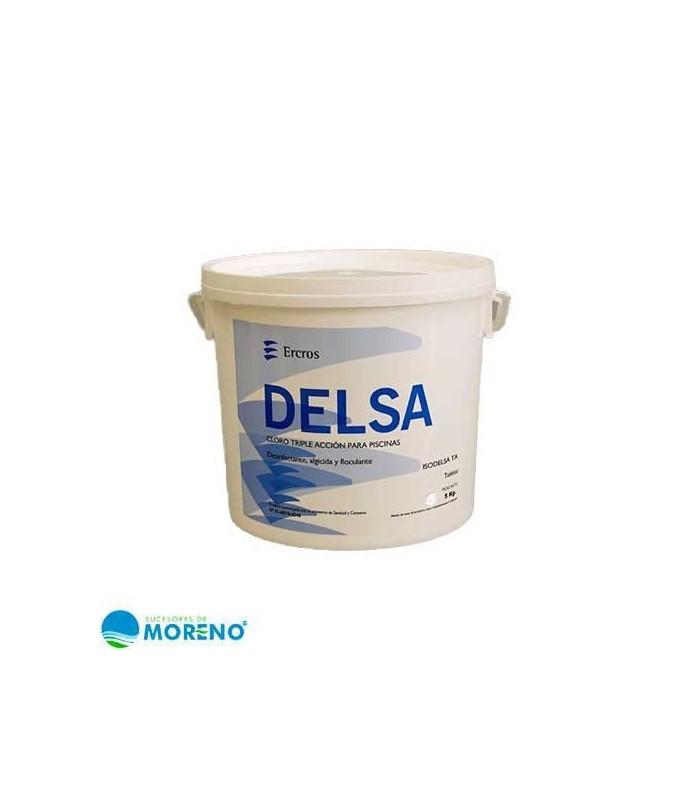 Isodelsa ATCC Triple acción pastilla 200g, 5kg (sin sulfato cobre)