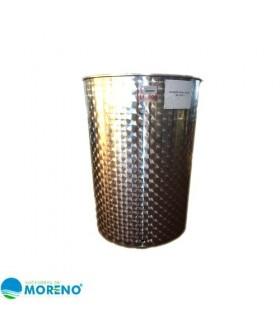 Deposito acero inx para aceite oliva 500l