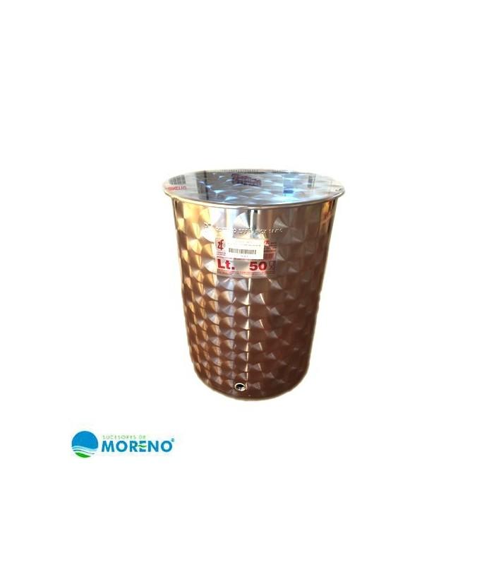 Deposito acero inx para aceite 50l