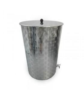 Deposito Acero Inoxidable para aceite de oliva 100 ltrs.