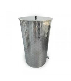 Deposito acero inoxidable para aceite de oliva 200 Ltrs