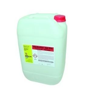 Reductor PH Liquido para piscinas 12 kg Anpiclor 40