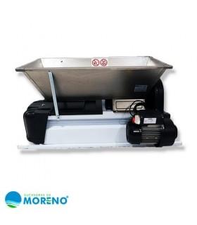 Despalilladora semi- Inox. con motor DMCSI